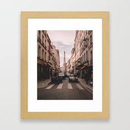 Paris France and the Eiffel Tower Framed Art Print