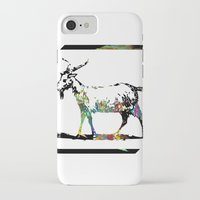 goat iPhone & iPod Cases featuring Goat by LoRo  Art & Pictures