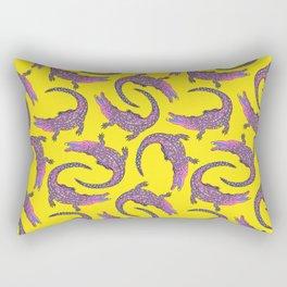 Crocodiles (Pop Art Palette) Rectangular Pillow