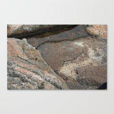 Water Shelf Canvas Print
