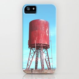 Old water tank iPhone Case