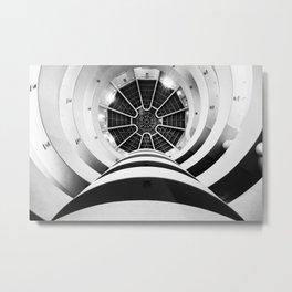 Solomon R. Guggenheim Museum Metal Print