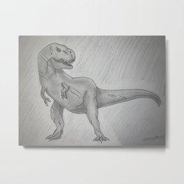 Rex-y Metal Print