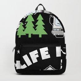 Life Rocks Funny Motorhome Camping Gift Backpack