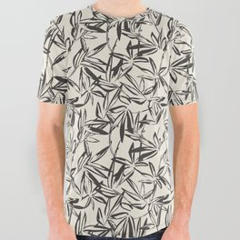 JUNGLIA CHARCOAL All Over Graphic Tee