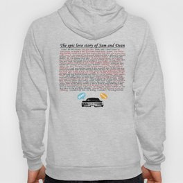 Epic Love Story of Sam and Dean Hoody