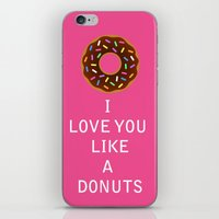 food iPhone & iPod Skins featuring food by mark ashkenazi