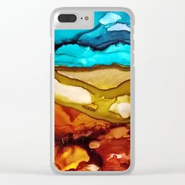 Painted Desert Clear iPhone Case