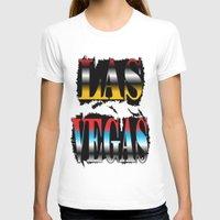 las vegas T-shirts featuring LAS VEGAS  by Robleedesigns