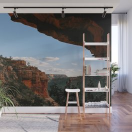 Sedona Sights From Under A Natural Arch Wall Mural