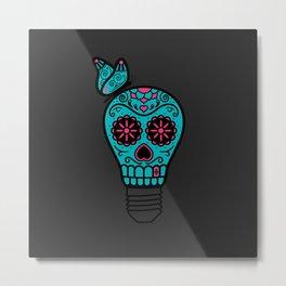 Noche de los Muertos Metal Print