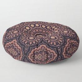 Star Flower // Bohemian Vintage Gypsy Star Mandala Hippy Boho Rustic Earthy Tribal Floor Pillow
