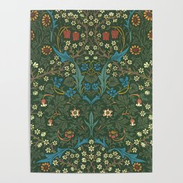 "William Morris ""Blackthorn"" 1. Poster"