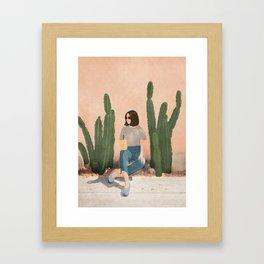 Waiting By Framed Art Print