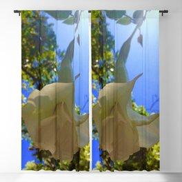Hanging Flower Blackout Curtain