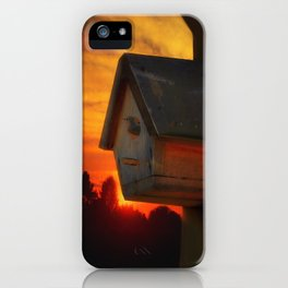 PLEASE COME HOME iPhone Case