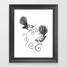 Fantails Framed Art Print