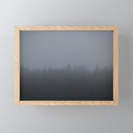 Foggy Framed Mini Art Print