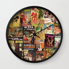 Pulp Fiction 7 Wall Clock