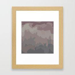 Horizon Camo Framed Art Print