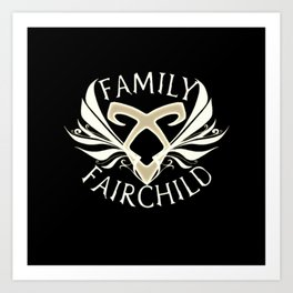 family fairchild Art Print