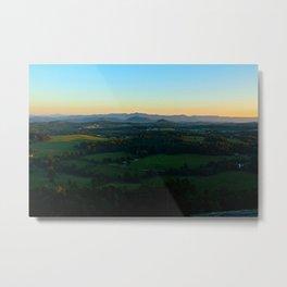 Glassy Mountain, South Carolina Metal Print