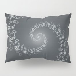 Follow the White Light - Fractal Art Pillow Sham