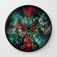 alchemy Wall Clocks featuring Alchemy by noistromo