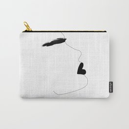 Watercolor brow Carry-All Pouch