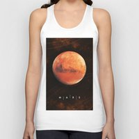 mars Tank Tops featuring MARS by Alexander Pohl