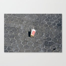 Junk Drink Canvas Print