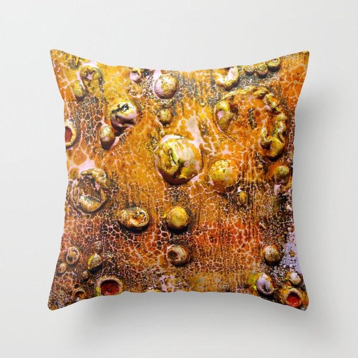 Bubble Effect Throw Pillow