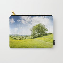Idyllic Cotswold Summer Landscape Carry-All Pouch