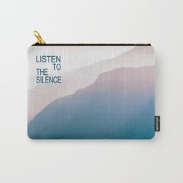 Listen to the Silence #2 Carry-All Pouch