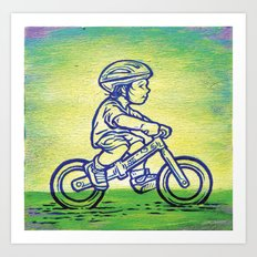 Bicycle 1 Art Print