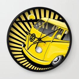 bang bus Wall Clock