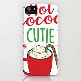 Hot Cocoa Cutie iPhone Case