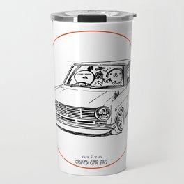 Crazy Car Art 0198 Travel Mug