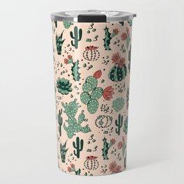 Succulent Desert Travel Mug