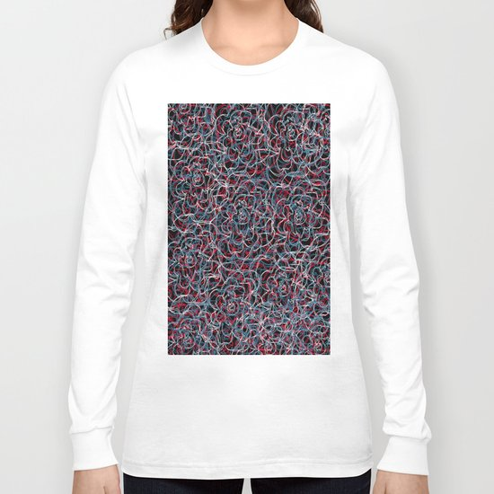 Floral pattern 21 Long Sleeve T-shirt