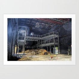 R.I.P. Nation Nightclub - Main Room Art Print
