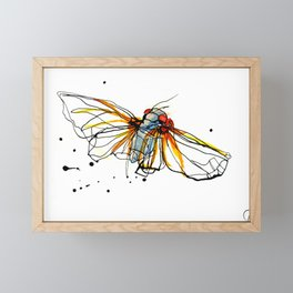 Cicada III Framed Mini Art Print