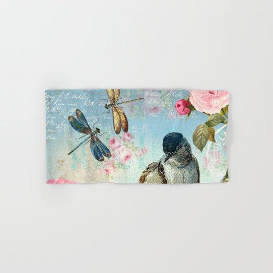 Dragonflies & bird Hand & Bath Towel