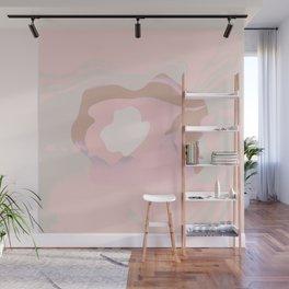 Sunset Ocean Flow - Minimalist Fluid Pastel Wall Mural
