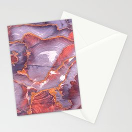 Colorful sandstone in Petra, Jordan (Picture 6) Stationery Cards