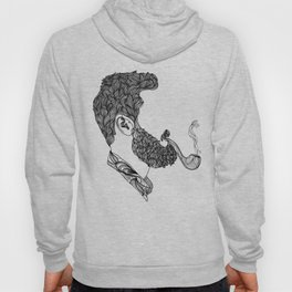 Beard Collection_ Lovely Bearded Man Hoody