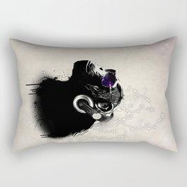 Monkey Tripping Rectangular Pillow
