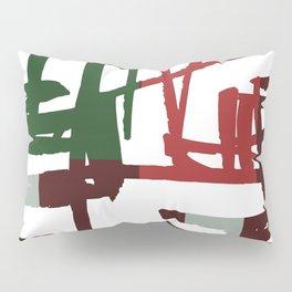 Modern Christmas Pattern Print Pillow Sham