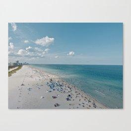 Miami Life Canvas Print