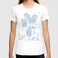 mermaids T-shirts featuring Mermaids by Veils and Mirrors